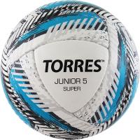 Футбольный мяч Torres Junior-5 Super HS/ F320305 (р-р 5, белый/голубой/серый) -