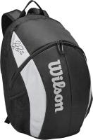 Рюкзак спортивный Wilson Super Tour Backpack Bold / WR8005901001 (черный/серый) -
