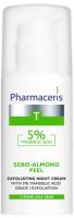 Крем для лица Pharmaceris T Sebo- Almond Peel ночной с 5% миндальной кислотой (50мл) -