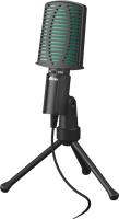 Микрофон Ritmix RDM-126 (черный/зеленый) -