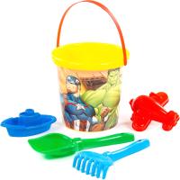 Набор игрушек для песочницы Полесье Marvel Мстители №4 / 81568 -