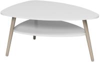 Журнальный столик Аквилон Консул-3 (белоснежный) -