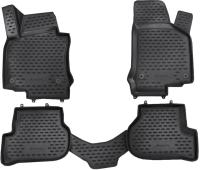 Комплект ковриков для авто ELEMENT NLC.3D.51.26.210KH для Volkswagen Golf VI (4шт) -