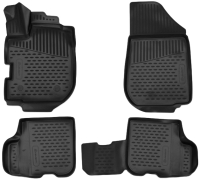 Комплект ковриков для авто ELEMENT Element3D4146210K для Renault Logan (4шт) -
