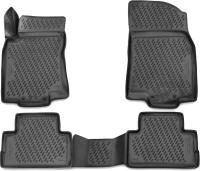Комплект ковриков для авто ELEMENT CARNIS00061 для Nissan Qashqai (4шт) -
