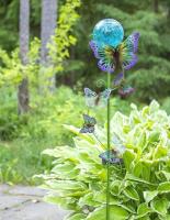 Садовая фигура-светильник Чудесный Сад 689-B Бабочки -