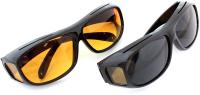 Комплект солнцезащитных очков Sipl HD Vision AG177B (2шт) -