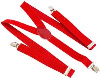 Подтяжки Sipl BQ6С (М-XL, красный) -