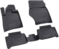 Комплект ковриков для авто ELEMENT NLC.04.16.210K для Audi Q7 (4шт) -