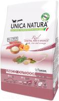 Корм для кошек Gheda Petfood Unica Natura Outdoor утка, рис, апельсин (350г) -