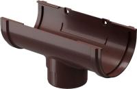 Воронка водостока Docke Premium 120мм (шоколад) -