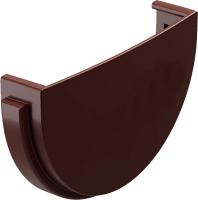 Заглушка желоба Docke Premium 120мм (шоколад) -