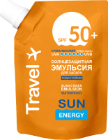 Эмульсия солнцезащитная Sun Energy Для загара водостойкая SPF50+ (200мл) -