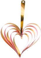 Набор украшений для праздника Darvish Сердце / DV-H-1066 (4шт) -