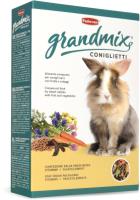 Корм для грызунов Padovan GRANDMIX Coniglietti для кроликов / PP00189 (850г) -