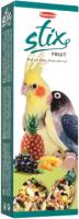 Лакомство для птиц Padovan Палочки фруктовые для средних попугаев / PP00347  (100г) -