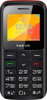 Мобильный телефон Texet TM-B323 (черный/красный) -