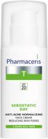 Крем для лица Pharmaceris T Sebostatic Day увлажняющий себорегулирующий SPF20 (50мл) -