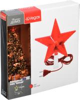 Верхушка для елки VEGAS Звезда 55097 -