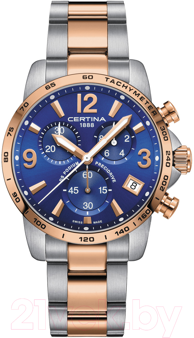 Купить Часы наручные мужские Certina, C034.417.22.047.00, Швейцария