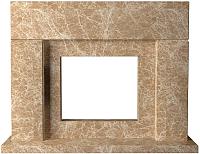 Портал для камина Glivi Родос 149x45x115.5 Emperador Light (светло-коричневый) -