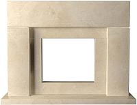 Портал для камина Glivi Родос 149x45x115.5 Crema Marfil (слоновая кость) -