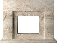 Портал для камина Glivi Родос 149x45x115.5 Breccia Sardo (темно-бежевый) -
