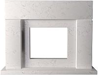 Портал для камина Glivi Родос 149x45x115.5 Biancone (белый) -