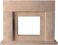 Портал для камина Glivi Родос 149x45x115.5 Rosa Perlino (розовый) -