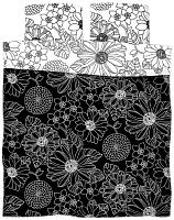 Комплект постельного белья Samsara Black&White 200-3/4 -