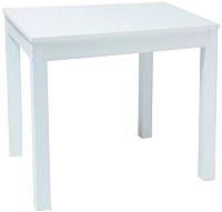 Обеденный стол Signal Eldo 80 / EldoB80 (белый) -