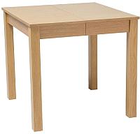 Обеденный стол Signal Eldo 80 раздвижной (дуб) -