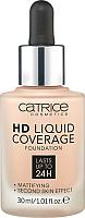 Тональный крем Catrice HD Liquid Coverage тон 010 (30мл) -