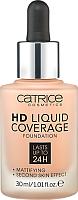 Тональный крем Catrice HD Liquid Coverage тон 020 (30мл) -