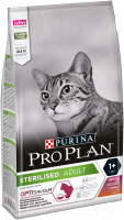 Корм для кошек Pro Plan Sterilised утка и печень (10кг) -