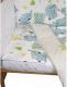 Комплект постельный в кроватку Баю-Бай Слоники К31-С5 (серый) -