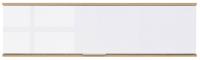 Шкаф навесной BMK Злата SFW1K (дуб тахо/белый) -