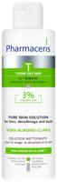 Лосьон для умывания Pharmaceris T для лица декольте спины Sebo-Almond-Claris с 3% миндал. кисл. (190мл) -