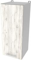 Шкаф навесной для кухни Интерлиния Компо ВШ30-720-1дв (дуб белый) -