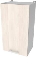 Шкаф навесной для кухни Интерлиния Компо ВШ40-720-1дв (вудлайн кремовый) -