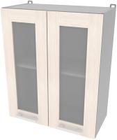 Шкаф навесной для кухни Интерлиния Компо ВШ60ст-720-2дв (вудлайн кремовый) -