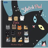 Скетчбук Hatber SketchBook. CATs / 32Т3лAпс-21041 -