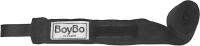 Боксерские бинты BoyBo Хлопок 3.5м (черный) -