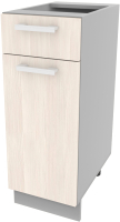 Шкаф-стол кухонный Интерлиния Компо НШ30рш1 (вудлайн кремовый) -