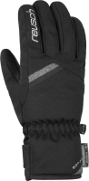 Перчатки лыжные Reusch Coral R-Tex XT / 6031229 7721 (р-р 8, Black/Black Melange) -