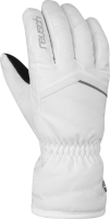 Перчатки лыжные Reusch Marisa / 6031150 1103 (р-р 7.5, White/Silver) -
