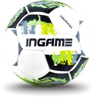Футбольный мяч Ingame Tsunami 2020 (размер 4, зеленый) -
