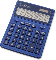 Калькулятор Citizen SDC-444X (темно-синий) -