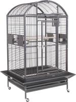 Клетка для птиц MONTANA Hacienda Dome / K33025 (темно-серый) -