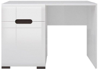Туалетный столик BMK Ацтека TOL1D1S/4/11 (белый/белый блеск/венге магия) -
